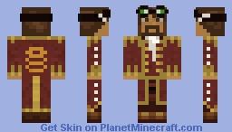 Browncoat Skylord Vasquezz Minecraft Skin