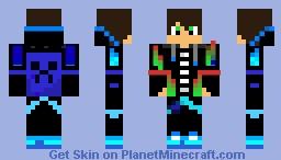 cool teenager dj Minecraft Skin