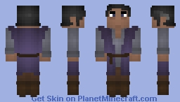 [lotC][x] Dark Mage Minecraft Skin