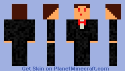 Evil Buisness Man Minecraft Skin