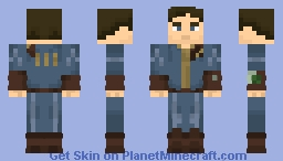 Fallout 4 Main Character Minecraft