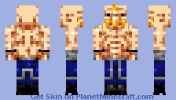 Alex Louis Armstrong [Fullmetal Alchemist] [Request] Minecraft Skin