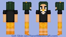 Hau Pokemon Minecraft Skin