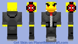 Mr. Quackers the Fancy Duck Minecraft Skin