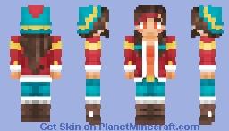 Kristina (OC) Minecraft Skin