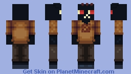 Mae Borowski - Night in the Woods Minecraft Skin