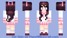 °ѕυgαя° Schoolgirl Minecraft Skin