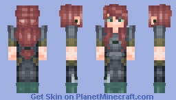 Mercenary ∫∫ Renegade Skin Series #1 Minecraft Skin