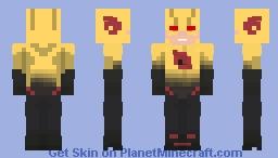 The Flash CW - The Reverse Flash Minecraft Skin