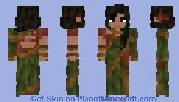 Green Sari Minecraft