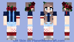 Poppies :3 Minecraft Skin