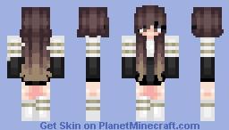 Pretty Anime Girl Minecraft Skin