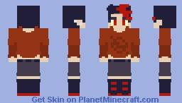 Human! Mae Borowski Minecraft Skin