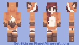 Fox ~ Minecraft Skin