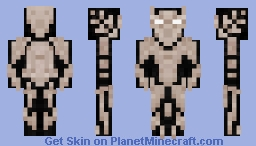 Bone Knight Assassin Minecraft Skin