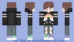 Dainty Rainbow Minecraft Skin