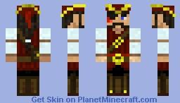Swashbuckler Singarath Minecraft Skin