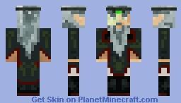 The Druid Hebrefex Minecraft Skin