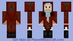 The Druid Valgorex Minecraft Skin