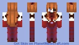 Evangelion 3:33 (You can (not) redo)- Asuka Langley Shikinami (Plugsuit Ver.) Minecraft Skin