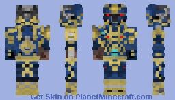 Warhammer Fantasy Bluesteel Footman (Requested by: TZUGARIS) Minecraft Skin