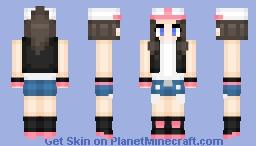 White Pokemon Minecraft Skin