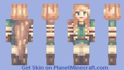 Girl Wanderer Minecraft