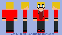 MARTYJAMZ! Updated character (Minecraft Adventures) Minecraft Skin