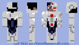 Cyborg (DC) Minecraft Skin
