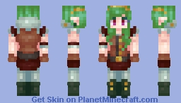 Forest of Copper - Mythpilot Minecraft Skin