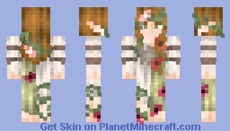 Happy 100  plant pots 'o' Popreel Minecraft Skin