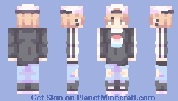 Skin trade with Peachiee 🍑 Minecraft Skin