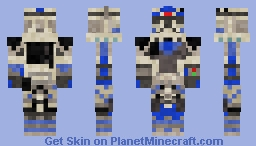 Clone Commando Fives (Skin Request for HaloReachFan) STAR WARS CLONE WARS Minecraft Skin