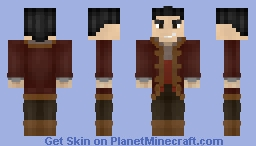 Beauty and the Beast 2017: Gaston Minecraft