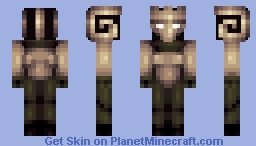 The Black Goat Minecraft Skin