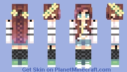 Seaside sadness Minecraft Skin