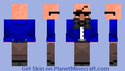 Minecraft Villager Spy (Alternate) Minecraft Skin