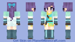 Fir ~ Fire Emblem ~ The Binding Blade Minecraft Skin