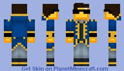 Mr. Gold Minecraft Skin