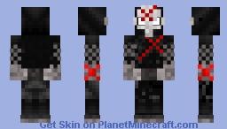 Red X (DC) Minecraft Skin