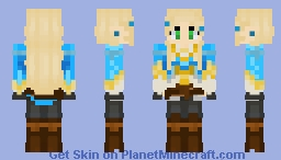 Legend Of Zelda Minecraft Collection - Skins para minecraft pe zelda
