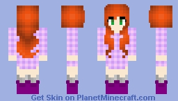 Gingered Hair Minecraft Skin
