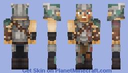 Thor Ragnarök Minecraft Skin
