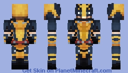 The Wolverine Minecraft Skin