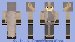 Warhammer Fantasy: The White Lion Minecraft Skin