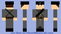 World War 1 Russian Soldier Minecraft Skin