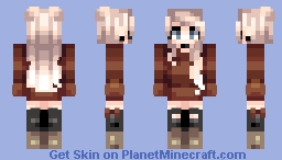 xo // My youtube channel Minecraft Skin