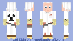 Back To The Future: Emmet (Doc) Brown 1985 Minecraft Skin