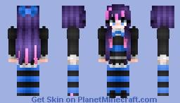 Stocking 🎀 『Panty and Stocking』 Minecraft Skin