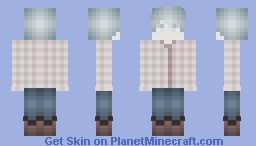 Cloud Boy Minecraft Skin